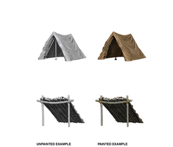 Wizkids Unpainted Minis Wv10 Tent And Lean- To