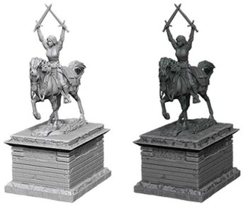 Wizkids Unpainted Minis Wv10 Heroic Statue