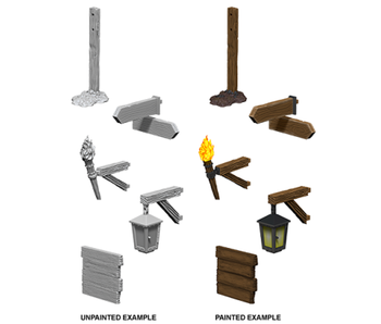 Wizkids Unpainted Minis Wv10 Signs And Lights