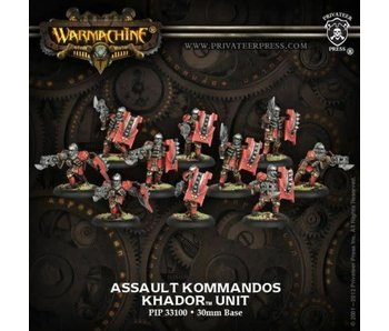 Khador Assault Kommandos (10) Unit - PIP 33100