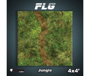 Frontline Gaming Mat Jungle 4x4