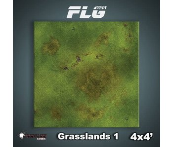 Frontline Gaming Mat Grasslands 1 4x4