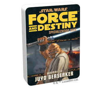 Force And Destiny - Warrior Juyo Berserker