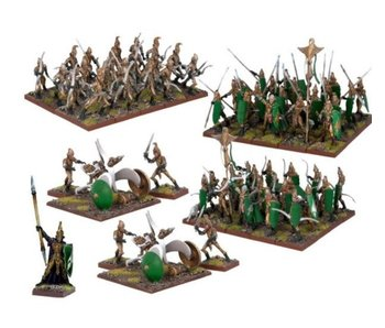 Kings of War Elf Army