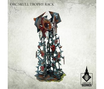 Orc Skull Trophy Rack HDF