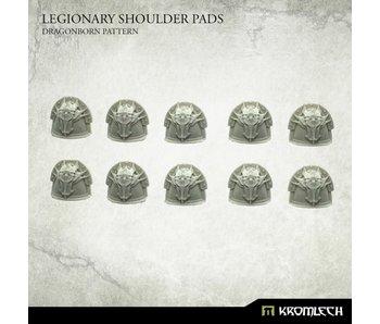 Legionary Shoulder Pads - Dragon Pattern (10)