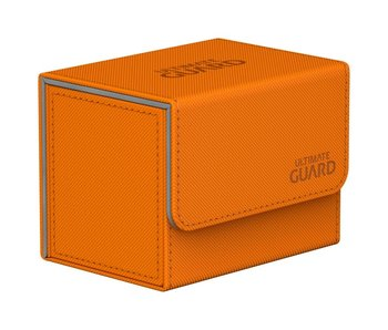 Ultimate Guard Deck Case Sidewinder 80+ Xenoskin Orange