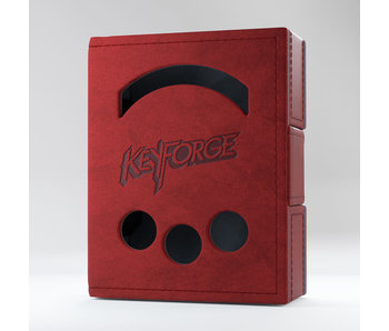 Keyforge Deck Book - Red