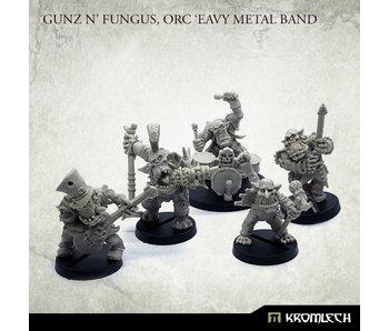 Gunz 'N' Fungus Orc 'Eavy Metal Band
