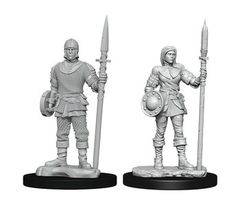 Wizkids Unpainted Minis Wv10 Guards