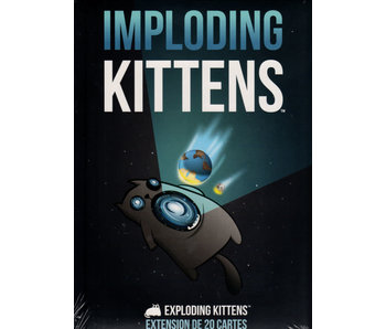 Exploding Kittens - Extension Imploding Kittens (Français)