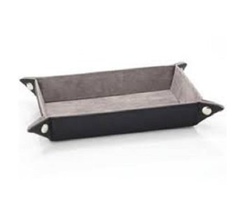 Die Hard Folding Rectangle Tray W/ Gray Velvet