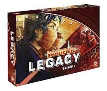 Pandemie Legacy - Red (Français)