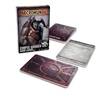 Necromunda - Corpse Grinder Gang Cards (PRE ORDER)
