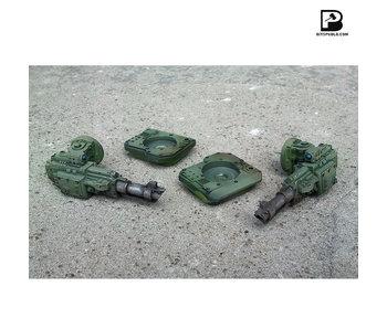 Bitspudlo - Side Laser Cannon for Battle Tank