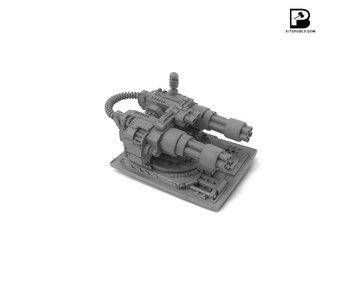 Bitspudlo - Short-barreled Gatling Cannon
