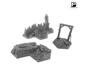 Bitspudlo - Shadowpike Ruins Terrain Set