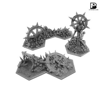 Bitspudlo - Shadowpike Reavers Terrain Set