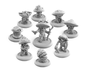 Bitspudlo - Myconids from Gloom Glade