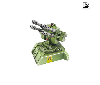 Bitspudlo - Hoplite Twin Flak Cannon