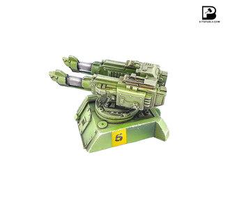 Bitspudlo - Helios Twin Laser Cannon