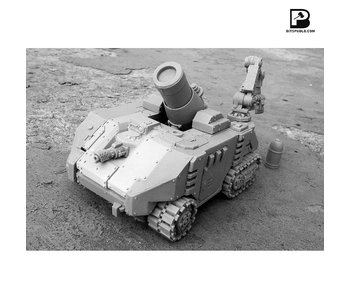 Bitspudlo - Hefaistos Super Heavy Mortar