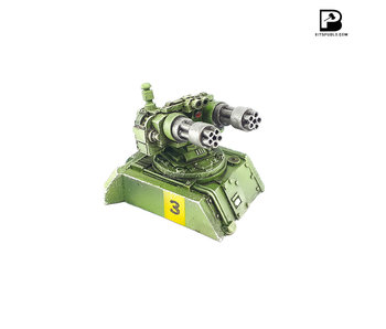 Bitspudlo - Grim Reaper Twin Gatling Cannon