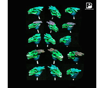 Bitspudlo - Dragon Skull Heads (10)