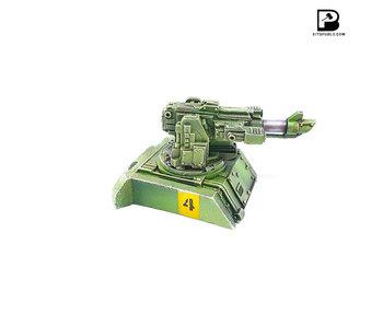 Bitspudlo - Dedalus Laser Cannon