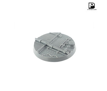 Bitspudlo - 80mm Round Industrial Base (1)