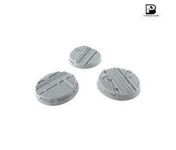 Bitspudlo - 50mm Round Industrial Bases (3)