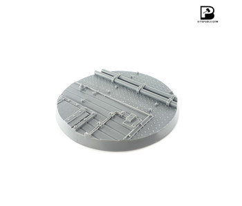 Bitspudlo - 100mm Round Industrial Base (1)