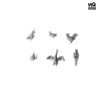 Birds Basing Kit - HQ Resin