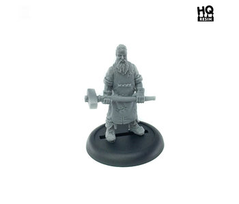 Gabe the Blacksmith - HQ Resin