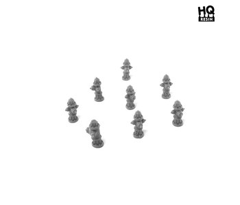Hydrants Set - HQ Resin