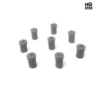 Trash Cans Set - HQ Resin