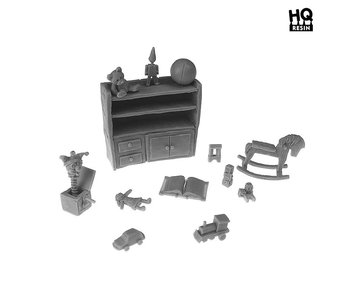 Kids Retro Toys Basing Kit - HQ Resin