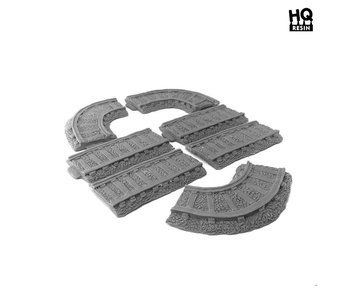 Railroad Tracks Set - HQ Resin