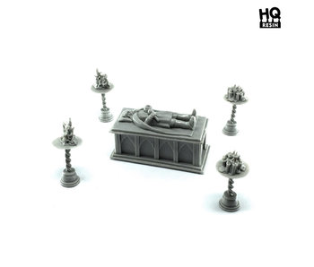 Sarcophagus of the King - HQ Resin