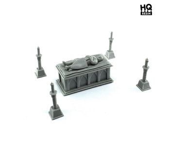 Sarcophagus of the Knight - HQ Resin