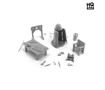 Torture Chamber Basing Kit - HQ Resin