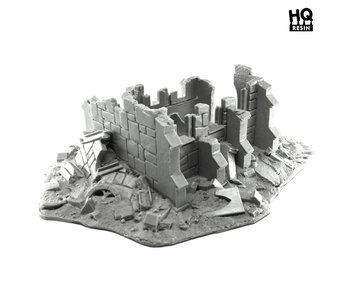 Devastated Gothic Shrine - HQ Resin