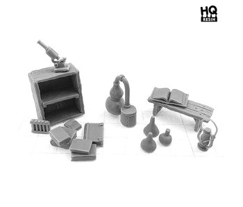 Alchemist's Laboratory Basing Kit - HQ Resin