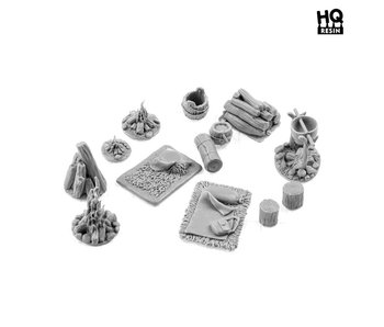 Camp Basing Kit - HQ Resin