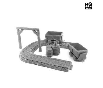 Crystal Mine Basing Kit 2 - HQ Resin