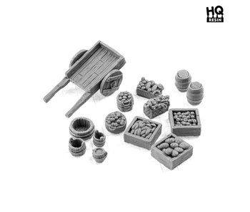 Food Market Basing Kit - HQ Resin