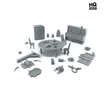 Wild West Basing Kit - HQ Resin