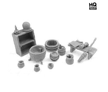 Witch House Basing Kit - HQ Resin
