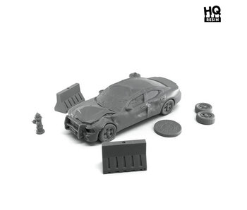 Road Accident Set - HQ Resin