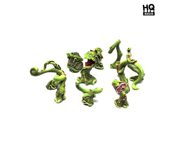 Alien Carnivorous Plants Set - HQ Resin